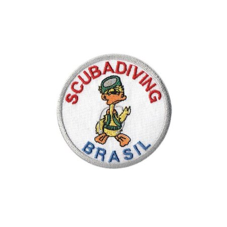 Patch Bordado Scuba Diving BR