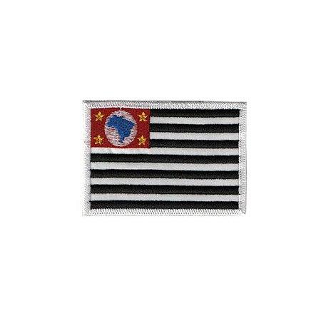 Patch Bordado Bandeira de São Paulo SP 34165