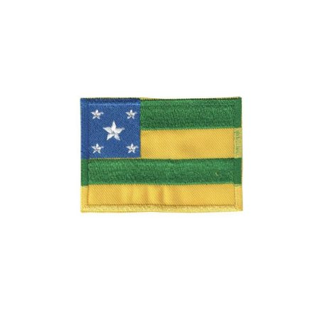 Patch Bordado Bandeira de Sergipe SE 34181