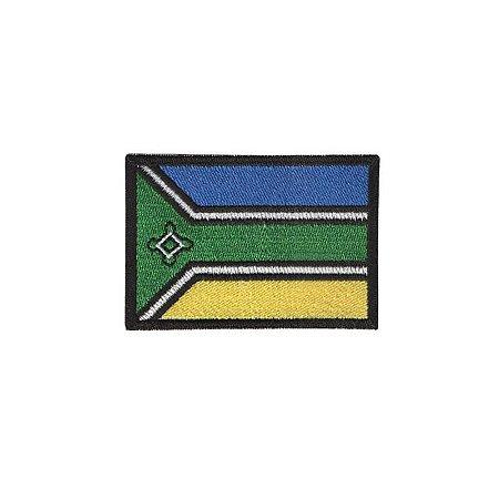 Patch Bordado Bandeira do Amapá AP 341.89