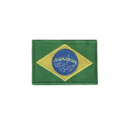 Patch Bordado Bandeira do Brasil BR 1.341.62