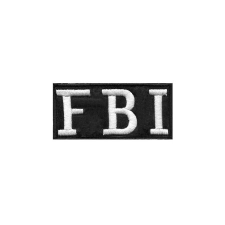 Patch Bordado FBI 1.341.41