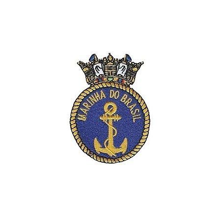 Patch Bordado Termocolante Marinha do Brasil