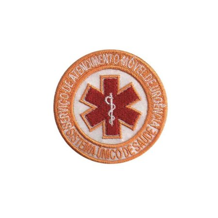 Patch Bordado Termocolante SAMU 1.341172V