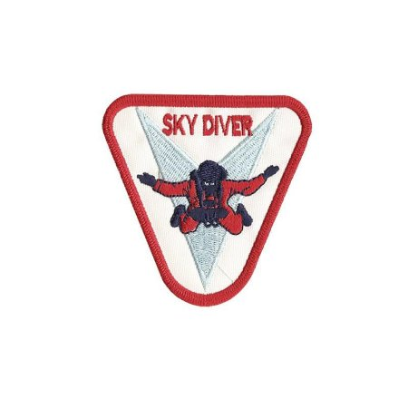Patch Bordado Sky Diver
