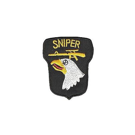 Patch Bordado Sniper Águia