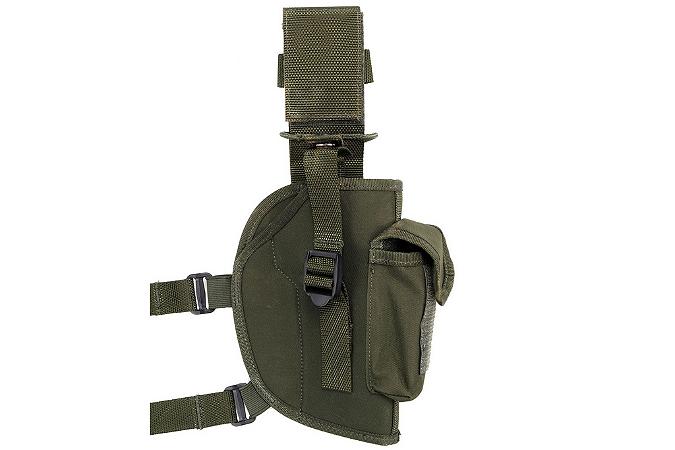 Coldre de Pistola com Porta Carregador Simples - Atack ATOM