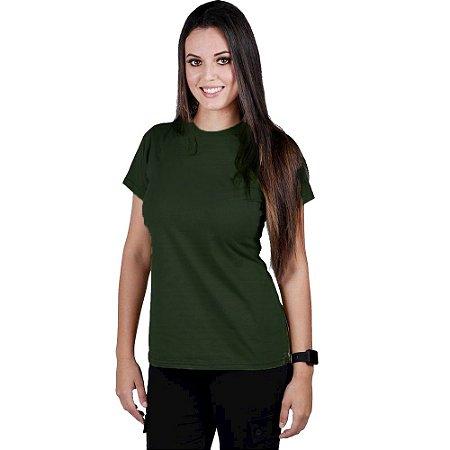 Camiseta Feminina Bélica Soldier Verde