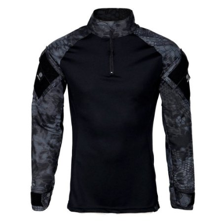 Combat Shirt Steel Bélica Camuflado Typhon