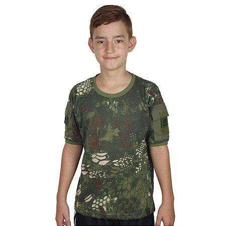 Camiseta T Shirt Ranger Infantil Mandrak Bélica-Promoção