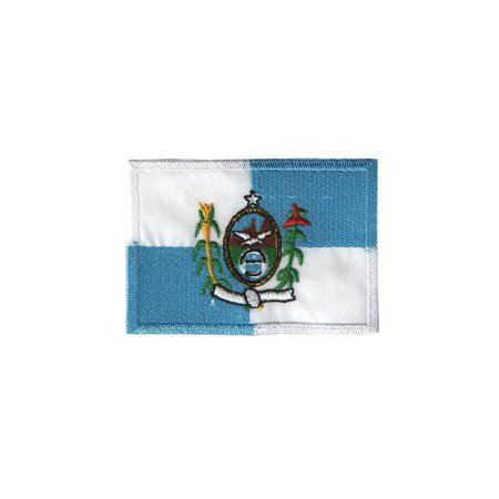 Patch Bordado Bandeira do Rio de Janeiro RJ 1.341.66