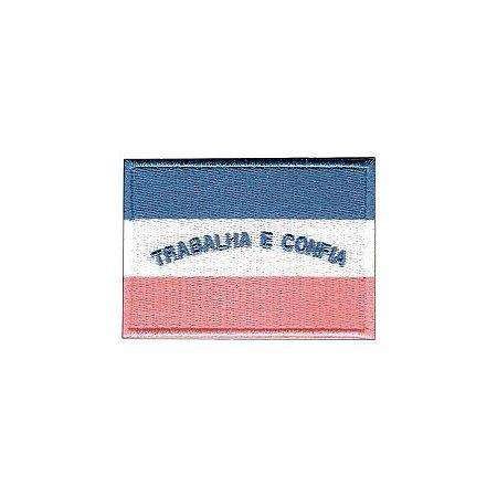 Patch Bordado Bandeira do Espírito Santo ES 1.341.67