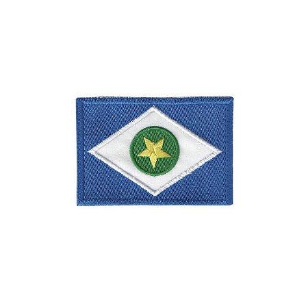 Patch Bordado Bandeira do Mato Grosso MT 1.341.79