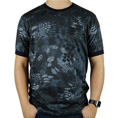 Camiseta Masculina Soldier Camuflada Typhon Bélica