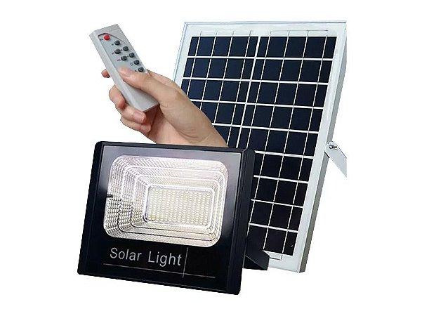 Kit Energia Solar Completo Placa Fotovoltaica Holofote Led