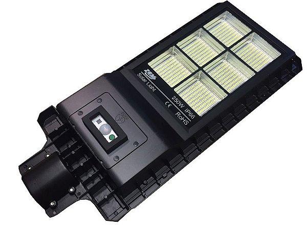 Luminária Energia Solar Fotovoltaica 250W Poste Solar