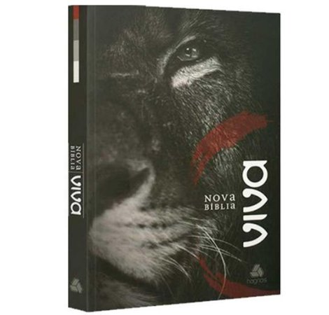 Bíblia - Nova Bíblia Viva - Leão de Judá - Capa Brochura