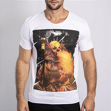 """Camiseta """"Evil Clown"""" - SKULLER"""