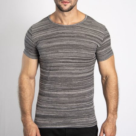 Camiseta Granite Regular Mescla Claro - SOHO