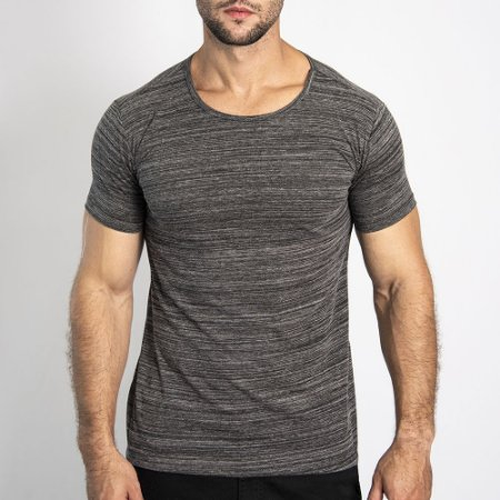 Camiseta Granite Regular Mescla Escuro - SOHO