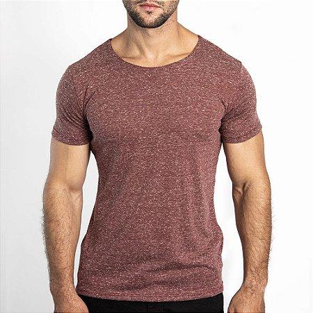 Camiseta Corte a Fio Bonete Vermelho - SOHO