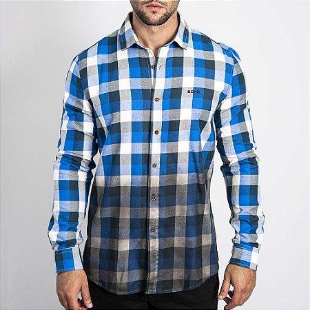 Camisa Estonada Regular Fit - SOHO