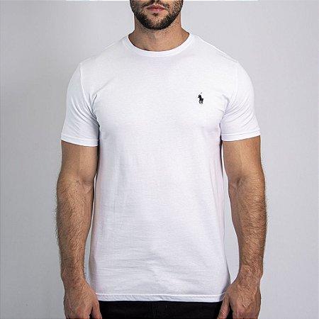 Camiseta Custom Fit Branca - Ralph Lauren