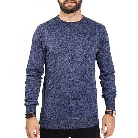 Suéter Basic Gola Careca John Sailor - Azul