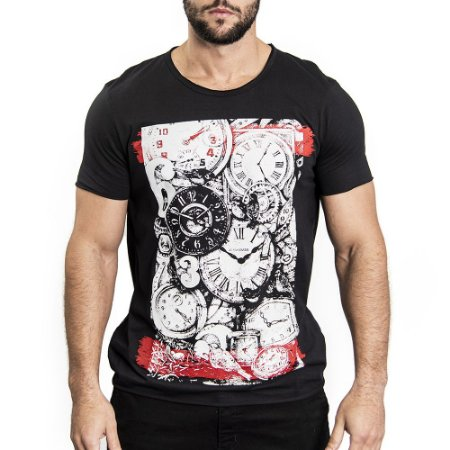 "Camiseta ""Time Out"" - SKULLER"