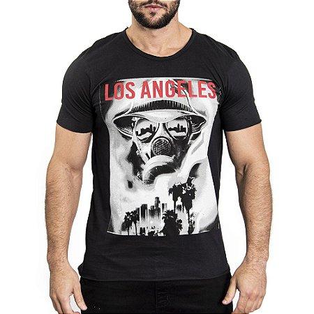 "Camiseta "" Masked Los Angeles"" - SKULLER"