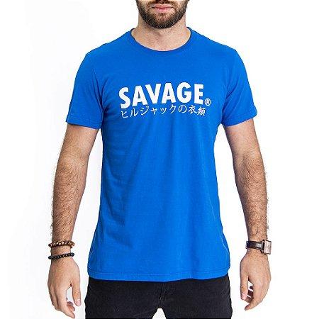 Camiseta Savage Azul - HillJack