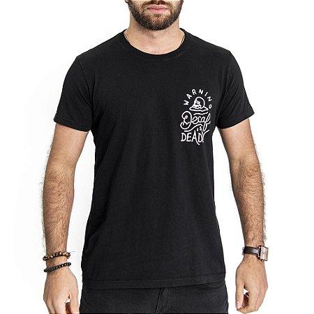 Camiseta Decaf Preta - HillJack