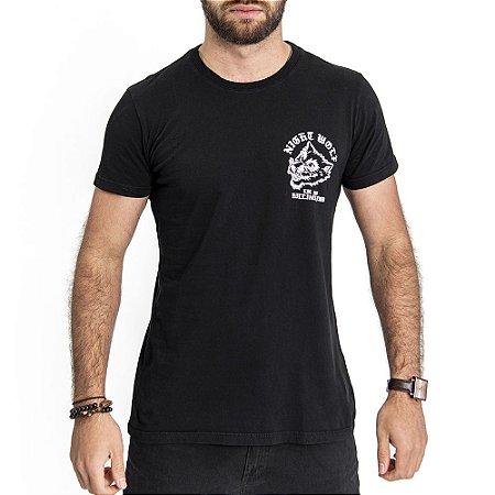Camiseta Night Wolf - HillJack
