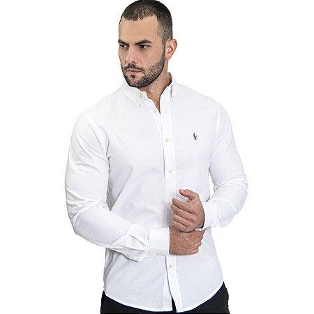 Camisa Custom Fit Clean - Ralph Lauren