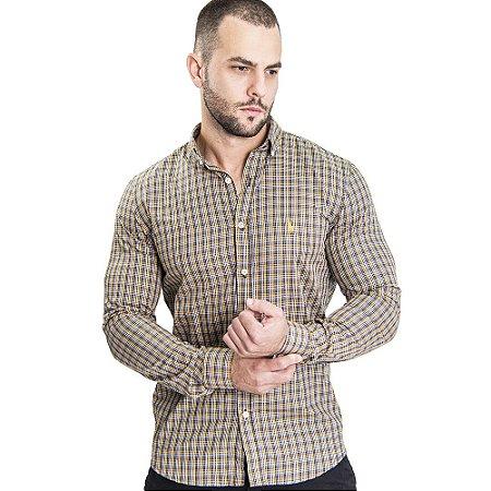 Camisa Custom Fit Peanut - Ralph Lauren