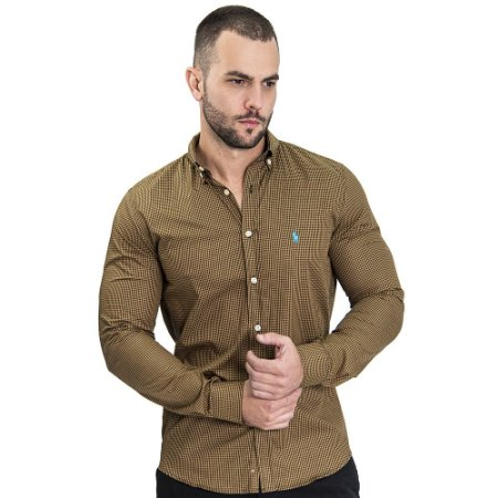 Camisa Custom Fit Nuts - Ralph Lauren