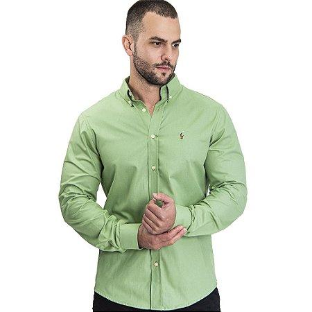 Camisa Custom Fit Avocado - Ralph Lauren