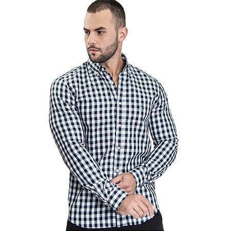 Camisa Custom Fit Small Blue - Ralph Lauren