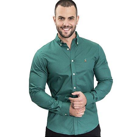 Camisa Custom Fit Esmeralda - Ralph Lauren
