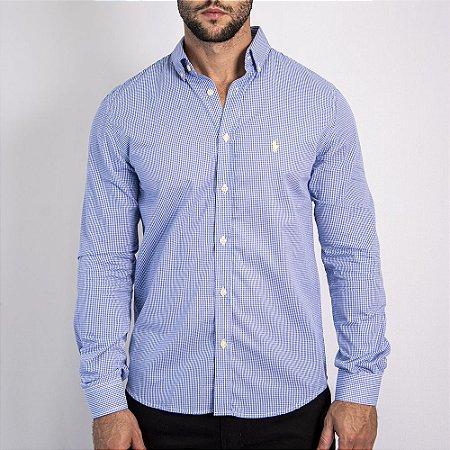 Camisa Custom Fit Li'l Blue - Ralph Lauren