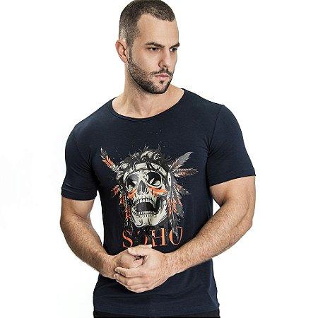 Camiseta Unissex Indian Marinho - SOHO