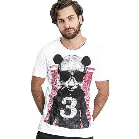 "Camiseta ""Panda Skull"" - SKULLER"