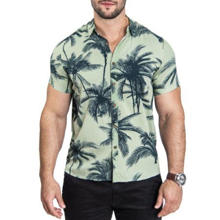 Camisa Pacific Blue Green Label