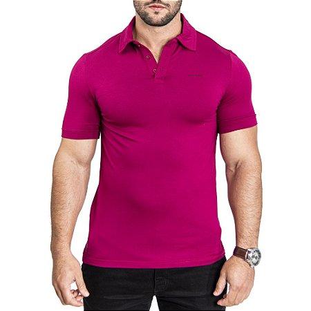 Camisa Polo Armani Bordô
