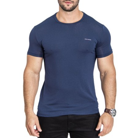 Camiseta Armani Minimals Navy