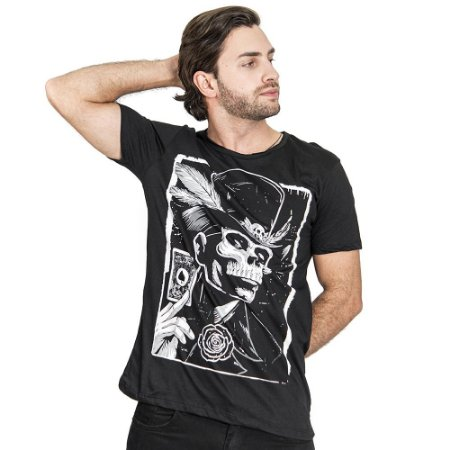 "Camiseta ""Shadowman"" - SKULLER"