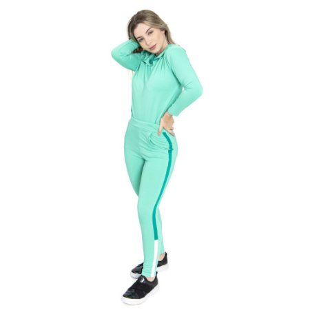 Conjunto Fitty Lines Basic Green