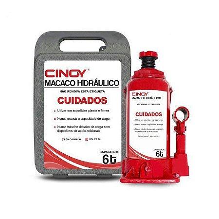 Macaco Hidraulico 6 Toneladas Cinoy