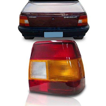 Lanterna Traseira Monza 90 A 96 Esquerda Tricolor