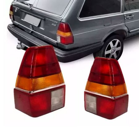 Lanterna Traseira Quantum 85 A 91 Esquerda Tricolor Friso